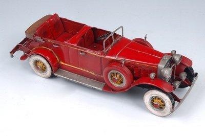 [ 尚霖模型館 ]模型古董車 { Q756-1 }德國古董敞篷車 1930