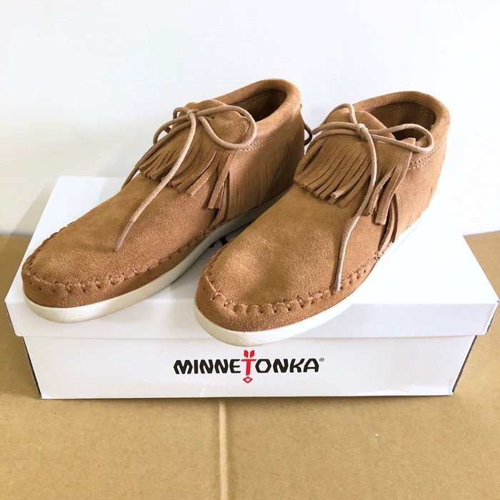 Maple麋鹿小舖 美國AE官網購買 *莫卡辛麂皮休閒鞋 * ( 現貨6號 )