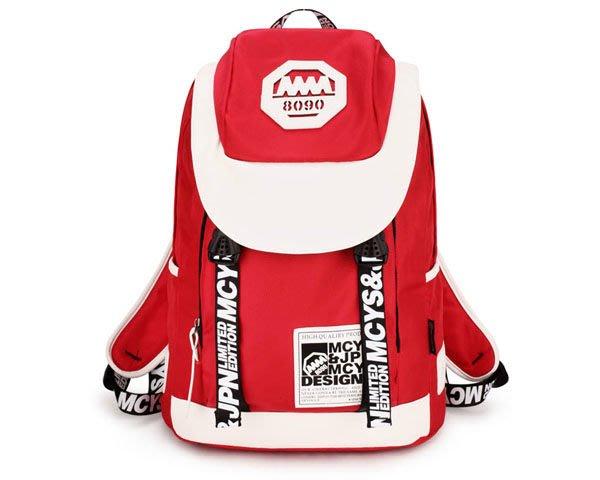 5Cgo 【鴿樓】會員優惠 18520717423 新款韓版潮夏書包 雙肩包背包 運動包旅行包男包女包包