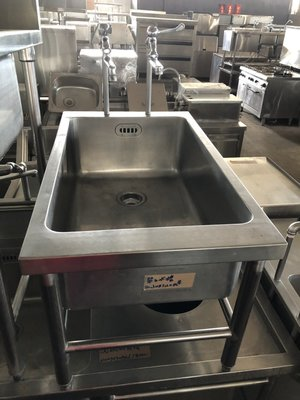 達慶餐飲設備 八里二手倉庫 二手商品 單口水槽