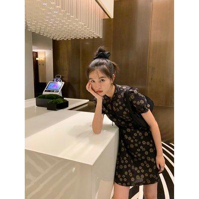KERNEL COSMOS 21SS 國風改良旗袍顯身材連衣裙夏日小心機襯衫