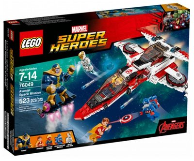 全新絕版- Lego 樂高 76049 Iron Man Avernjet Space Mission -Marvel Super Hero 漫威 鐵甲奇俠系列