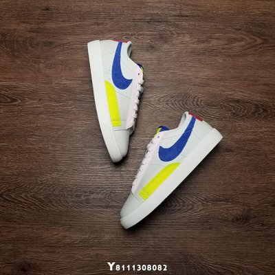 Nike Wmns Blazer Low Panache 白藍 經典 低幫 休閒滑板鞋 AQ4140-101 女鞋