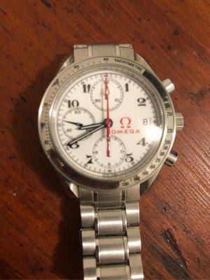 Omega 奧運紀念錶 盒單全 不二價