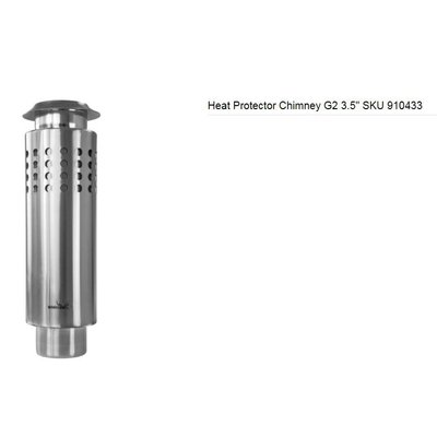 "【綠色工場】WINNERWELL SKU910433/Heat Protector Chimney G2 3.5"" 雙層隔熱煙管L號"