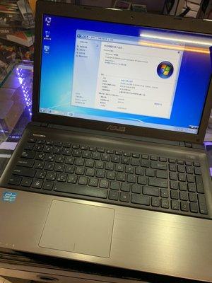 『皇家昌庫』ASUS 華碩 K55VM Win7 RAM:4GB  I5 二手筆電