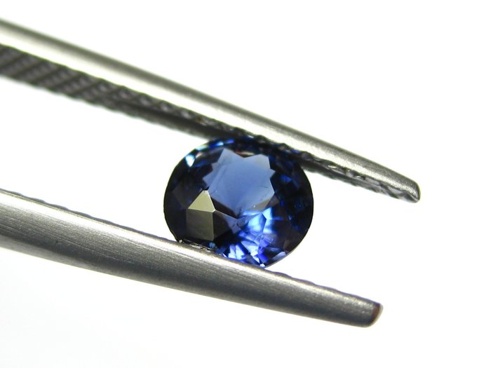 【Texture & Nobleness 低調與奢華】天然無處理 高品質AAA 超級稀有 藍錐礦 -0.6克拉