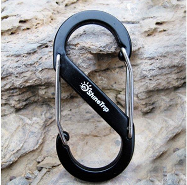△GOGO露△ 現貨🔥 S扣環 (小號) 八號 登山扣 掛勾 露營 登山 天幕