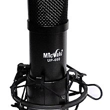 要買就買中振膜 非一般小振膜 收音更佳MicValu麥克樂 UP660電容式麥克風網路天空送166音效軟體