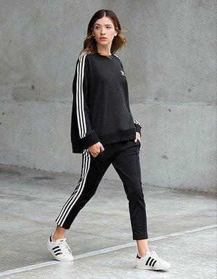 Adidas Originals Cigarette 黑色 BP9375 八分褲 三條線 拉鍊 運動褲 保證 全新 正品