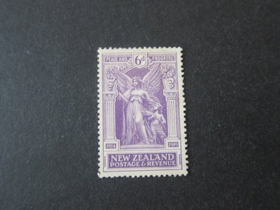 【雲品】紐西蘭New Zealand 1920 Sc 169 MH 庫號#78149