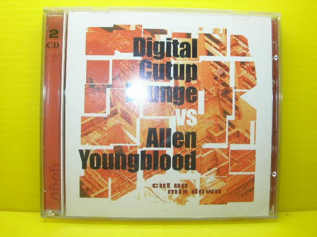 ▀ 博流挖寶館 ▀  光碟2CD digital cutup lounge cut up mix down