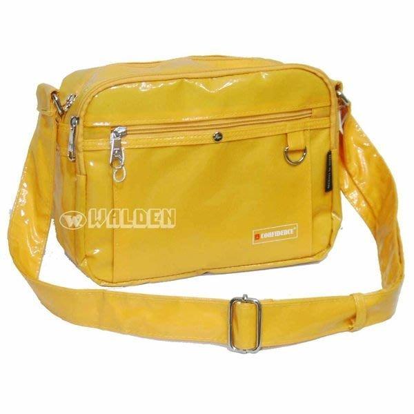 【葳爾登】高飛登confidence【全防水】側背包斜背包運動背包公事包郵差包1381黃色L