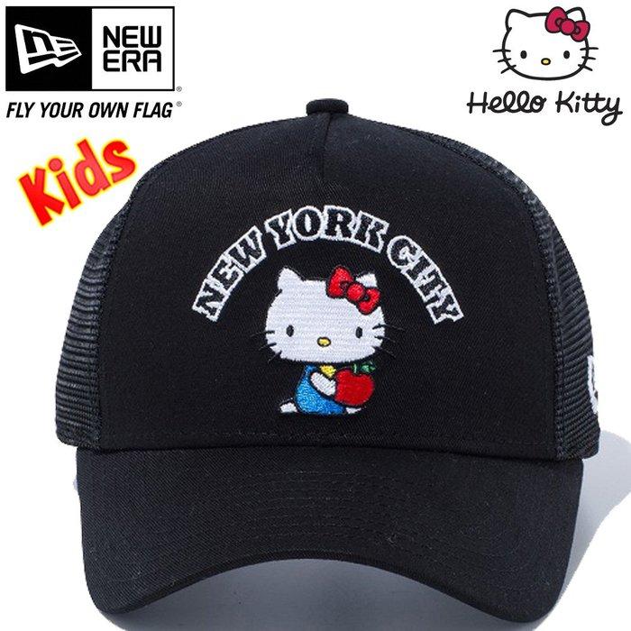 41+現貨免運費  Y拍低價 New Era & HELLO KITTY 9FIFTY 童帽 日本帶回