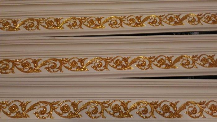 居家藝術 角線板 手工描金線板,窗簾盒 ,壁臺 ,窗框 ,天花板 等線板,預定品,PL-8048-0-HD@$1980