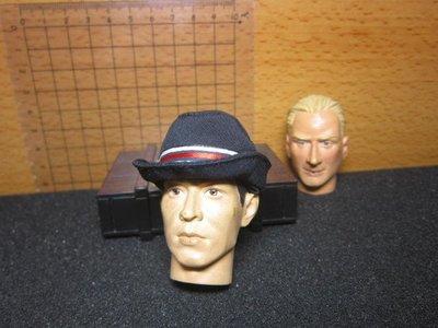 PJ1特警部門 似列車長款1/6深藍色紅帶款女警帽一頂(男女皆可搭)