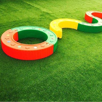 健身房幼兒園陽臺戶外人造塑膠人工仿真假草坪室內庭院樓頂草皮牆 新品特賣