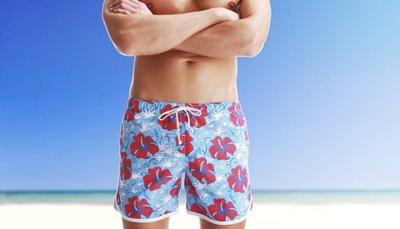 APPLE JUICY【ZX-94】MAN AWARE 舒適寬鬆運動型沙灘褲 M L XL 號 買五再送一