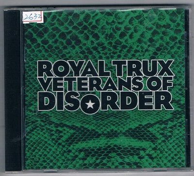 西洋CD-頭號垃圾:VETERANS OF DISORDER-原裝進口盤(全新)免競標