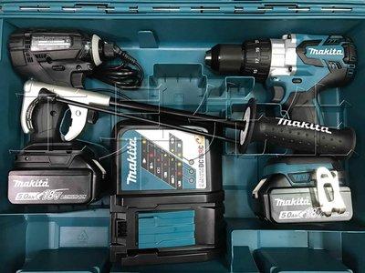 含稅/雙5.0Ah電池【工具先生】makita 牧田 18V 雙機組 DTD149 衝擊起子機+DHP481 震動電鑽