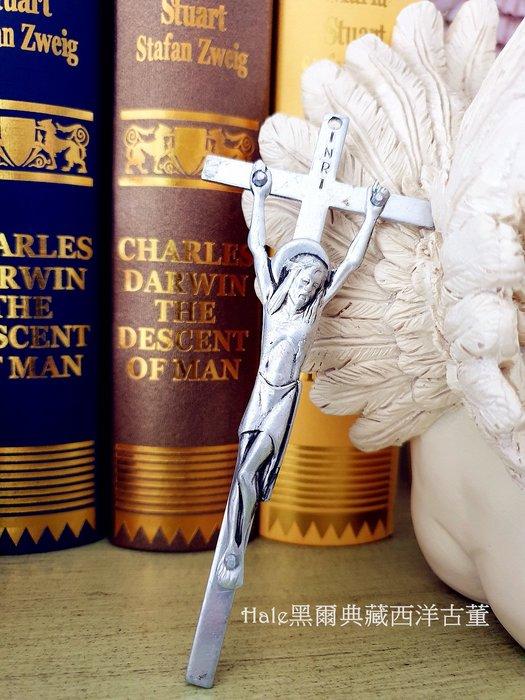 黑爾典藏西洋古董 ~義大利立體基督十字吊飾/墜飾/項鍊~Vintage復古羅馬教廷宗教系列
