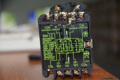 Tc添誠TENDEX 正逆電磁接觸器、正反轉接觸器、鐵捲門接觸器 RM-12