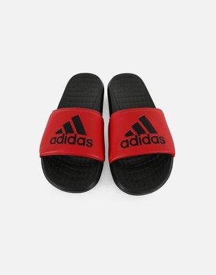 # ADIDAS VOLOOMIX  黑紅 男鞋 拖鞋 夏天 運動拖鞋 防水 海綿 休閒 軟Q CP9449 YTS