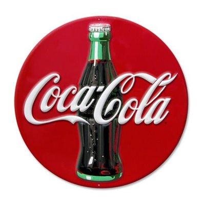 (I LOVE樂多)進口立體Coca Cola 可口可樂鋁製看板.壁飾.打造居家車庫酒吧店家裝飾情境自己來