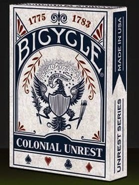 【USPCC撲克】Bicycle colonial unrest Playing Card 藍(白盒)