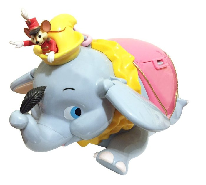 現貨!【東京迪士尼樂園】限量小飛象爆米花桶(可背式) (不含爆米花)
