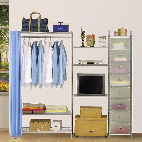 【中華批發網DIY家具】D-64-13-W3型90+60+pp電視衣櫥置物櫃-(前罩)不織布