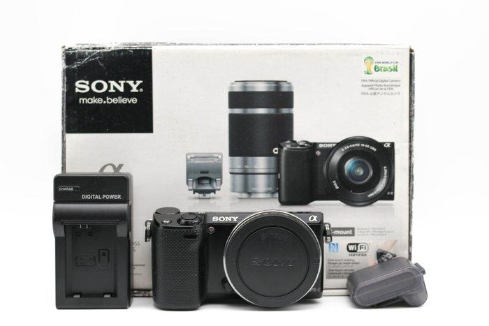 【高雄青蘋果3C】SONY NEX5T NEX-5T 黑 單機身 1610萬像素 APS-C 二手單眼相機 #32973