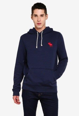 AF Abercrombie AF A&F 麋鹿 連帽 帽T 藍色