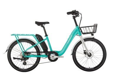 小哲居 2021年新款HASA PHOENIX 電動輔助自行車 電動車 淑女車 24吋輪 8段變速 有閃電標章 合法上路