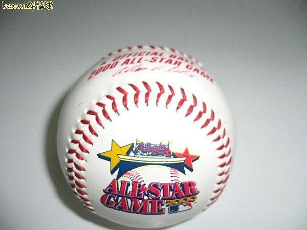 貳拾肆棒球-絕版限定品Rawlings2000年all-star亞特蘭大明星賽紀念球