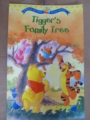 二手(幾全新)~小熊維尼雙語首部書~跳跳虎歷險記Tigger's Family Tree(非迪士尼)