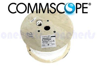萬赫COMMSCOPE 884024508/10 | CS44Z1 WHT C6A  CAT6A 網路線 10G 萬兆