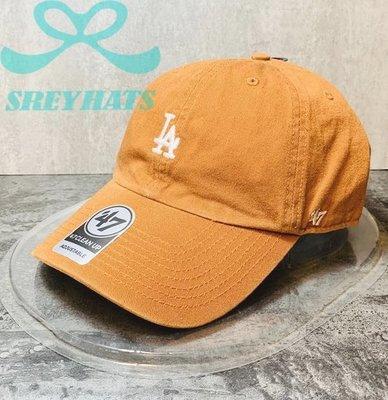 [SREY帽屋]預購*47 Brand CLEAN UP MLB 洛杉磯道奇 LA 小LOGO 棒球帽 老帽 美國限定