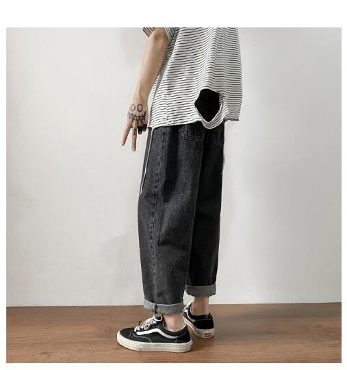FINDSENSE X 男士休閑褲  運動褲 工作褲  長褲牛仔 百搭 牛仔褲