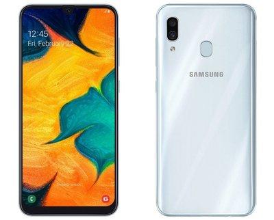 全新 Samsung Galaxy A30 公司貨 黑 白 藍3色