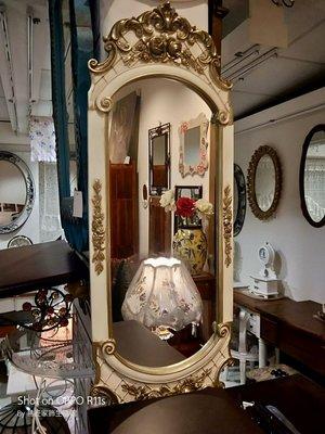 屏東易匠古典風格長鏡,自用,民宿.餐廳.美容.美髮