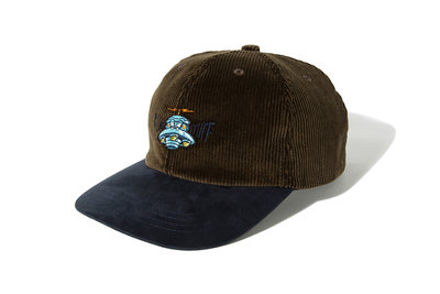 "[ LAB Taipei ] F-LAGSTUF-F ""UFO CORDS 6PANEL CAP"" (Brown)"