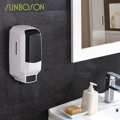 SUNBOSON商務型大容量手動單頭皂液器 洗手液器 皂液盒 給皂器機1000ML新台幣:478元