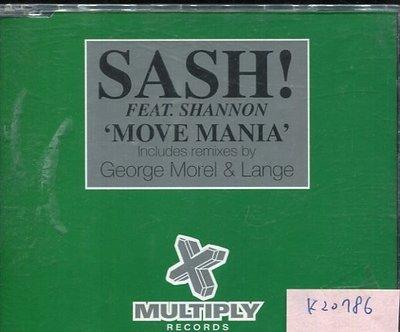 *真音樂* SASH / MOVE MANIA 二手 K20786