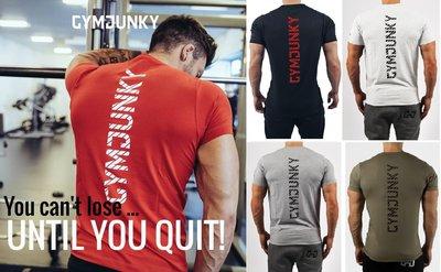G02010 肌肉小子 GYM JUNKY 短袖T恤 健身T恤 休閒 運動 排汗 速乾 高彈性 焦點服飾