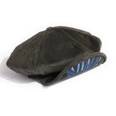 美國東村【SLIGHTLY NUMB】EAST FIRST CASQUETTE 燈芯絨 電繡 報童帽
