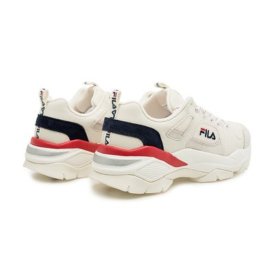(A.B.E)FILA RAY HIGH RUN F1-1010 BEG F1-1015 BLK 男女潮鞋 兩色