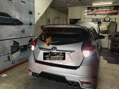 (小鳥的店)豐田 2014-2020 YARIS 雷 LED 流氓 倒車燈 爆亮款 T15 台製 小魚眼