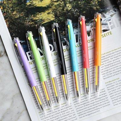 ❅PAVEE❅ 韓國plepic~ 3 Way Topic Pen 輕鬆換色 螢光 三色按壓式中性筆