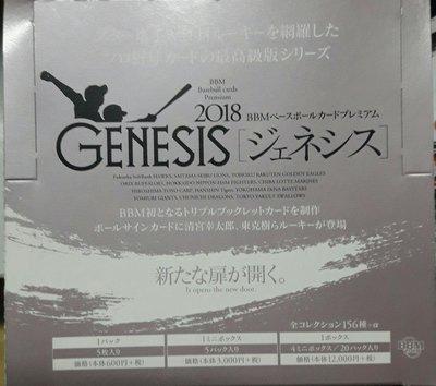 2018 Genesis 普卡108張一套